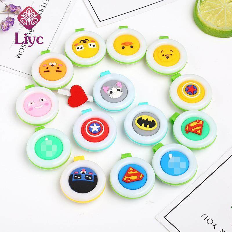 Liyc 10Pcs Mosquito Repellent Buckle Cute Baby Random Plastic Anti Clip Repellent Mosquito Mini Mosquito Buckle