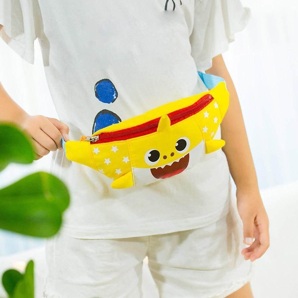 Giá bán 11.11♥ LITRO BAG ♥〔New Store/Low Price/High Quality 〕Cute Kids Boys Girls Shark Hobos Shoulder Waist Fanny Chest Crossbody Bags