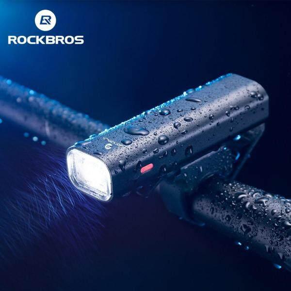 Đèn Xe Đạp RockBros, Đèn Pha, Đèn Pin Chạy Buổi Tối, Sạc USB Chống Mưa, Leo Núi, Xe Đạp, Ngoài Trời, Hai Loại 400 Lumen Và 200 Lumen