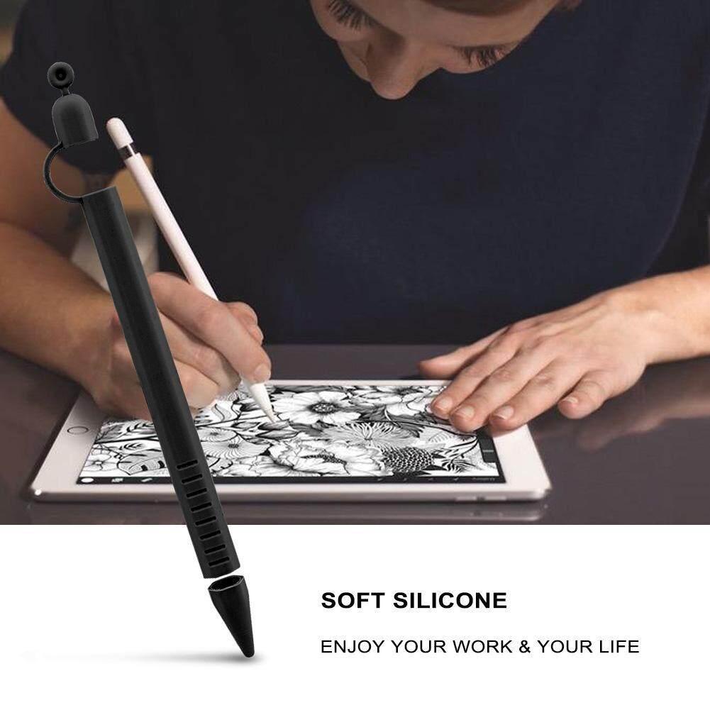 Sweatbuy Silikon Lembut Ringan Enam Pensil Bersisi Case Pemegang Anti-Lost & Non Slip Untuk Apple Pensil By Sweatbuy.
