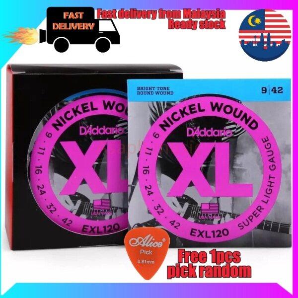 Guitar string D,Adario EXL120 Fast shipping from Malaysia tali guitar D,Adario berbaloi Malaysia