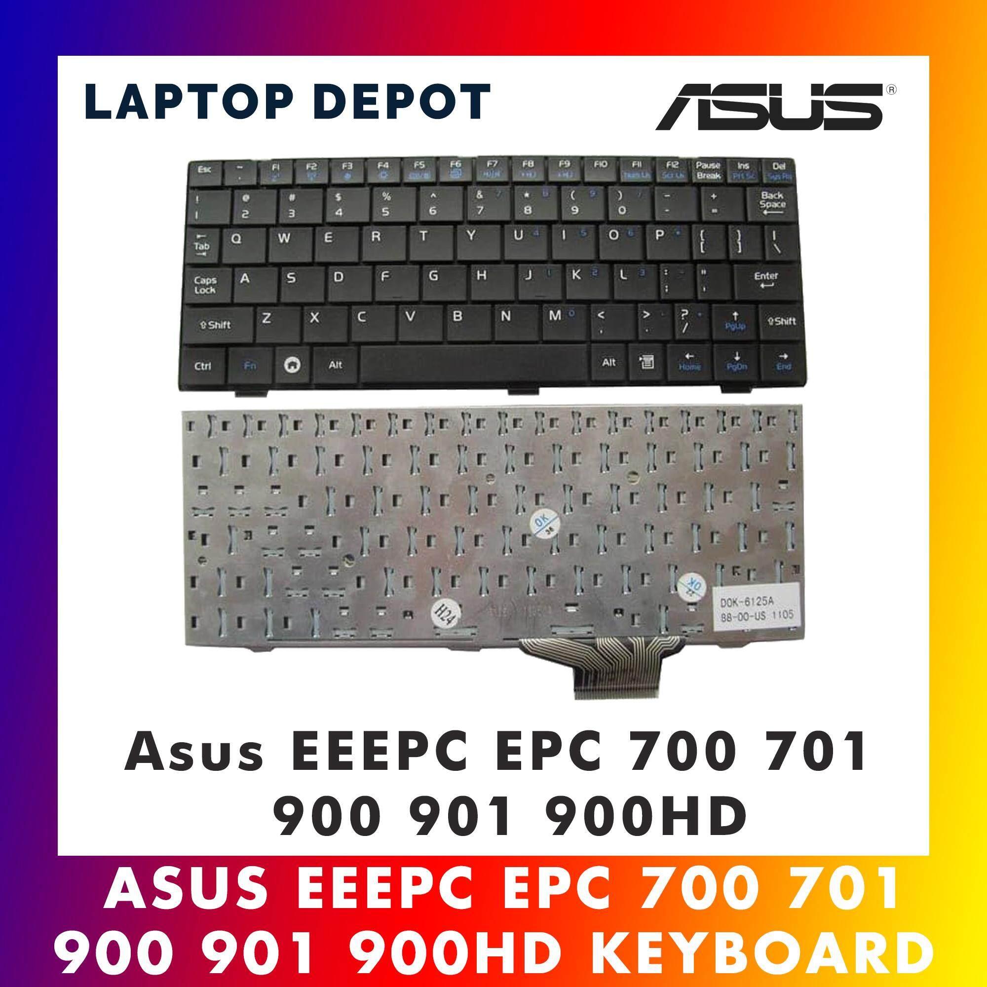 Asus EEEPC EPC 700 701 900 901 900HD Laptop Keyboard Malaysia