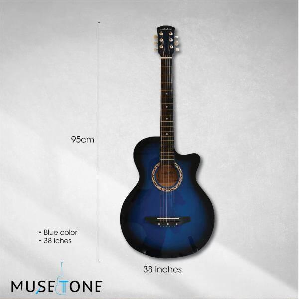 The Olive Tree 38 Acoustic Guitar Starter Pack best for beginner,BUY 1 FREE 8 Malaysia