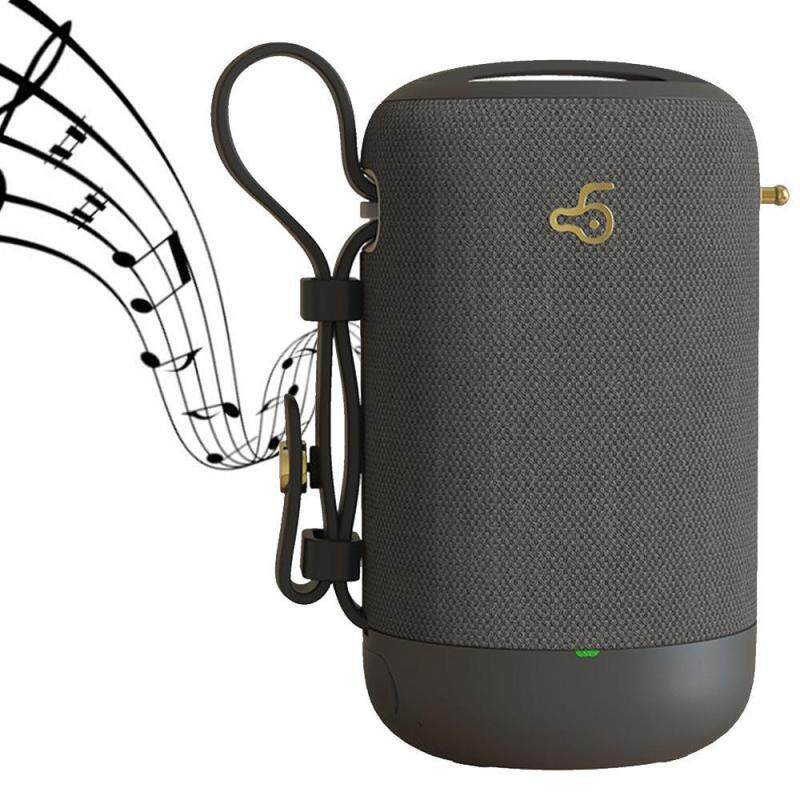 niceEshop Mini Outdoors Bluetooth Speaker, 3D Stereo IP5X Waterproof Dustproof With AUX/USB/TF Card Port Portable Speaker Singapore