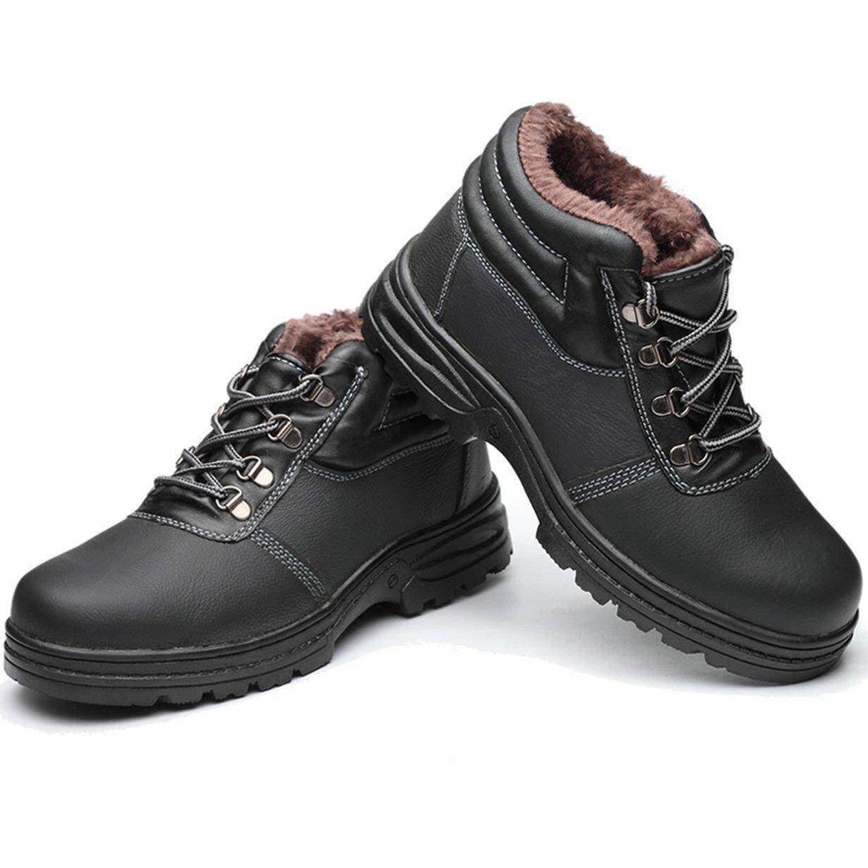 Best Sales Men Safety Shoes Construction Shoes Steel Toe Work Boots Leather Shoes