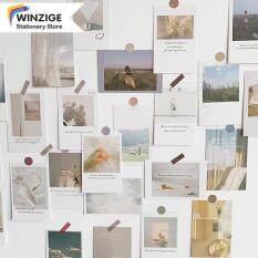 Giấy Dán Tường Ins Winzige 30 Tờ Bưu Thiếp Trang Trí Nội Thất