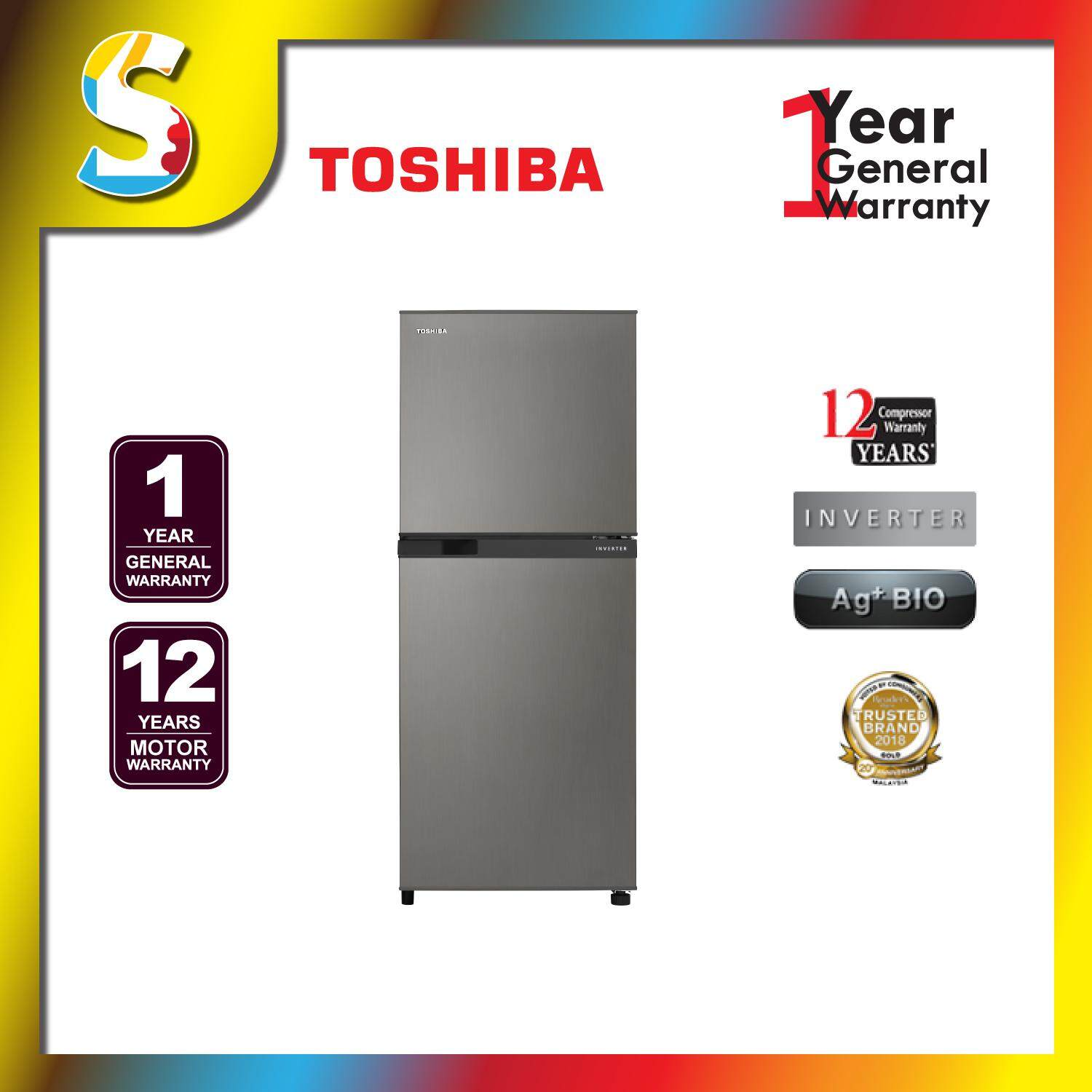 Toshiba - GR-A25MS (DS) - INVERTED FRIDGE