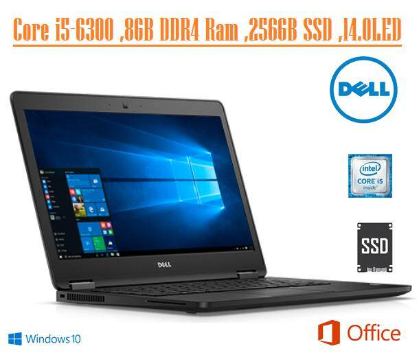 Dell Latitude E7470 Core i5-6300U 2.6GHz - 8GB 2133MHz DDR4 (1x8GB) 256 GB SSD Windows 10 Pro 64-bit Ultrabook Malaysia