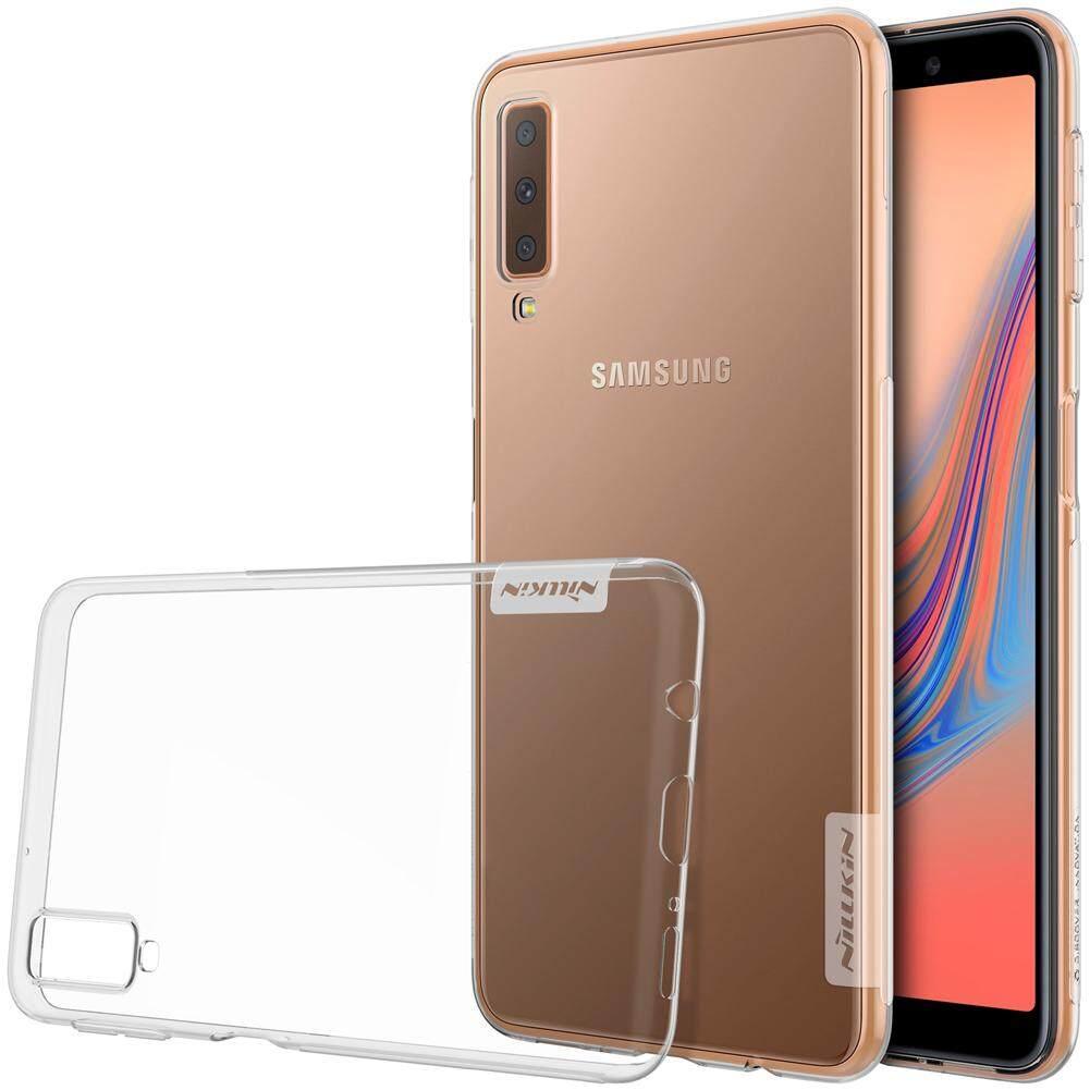 NILLKIN untuk Samsung Galaxy A7 2018 Transparan Bening Lembut Pelindung Silikon TPU Cover Case 6.0 Inch