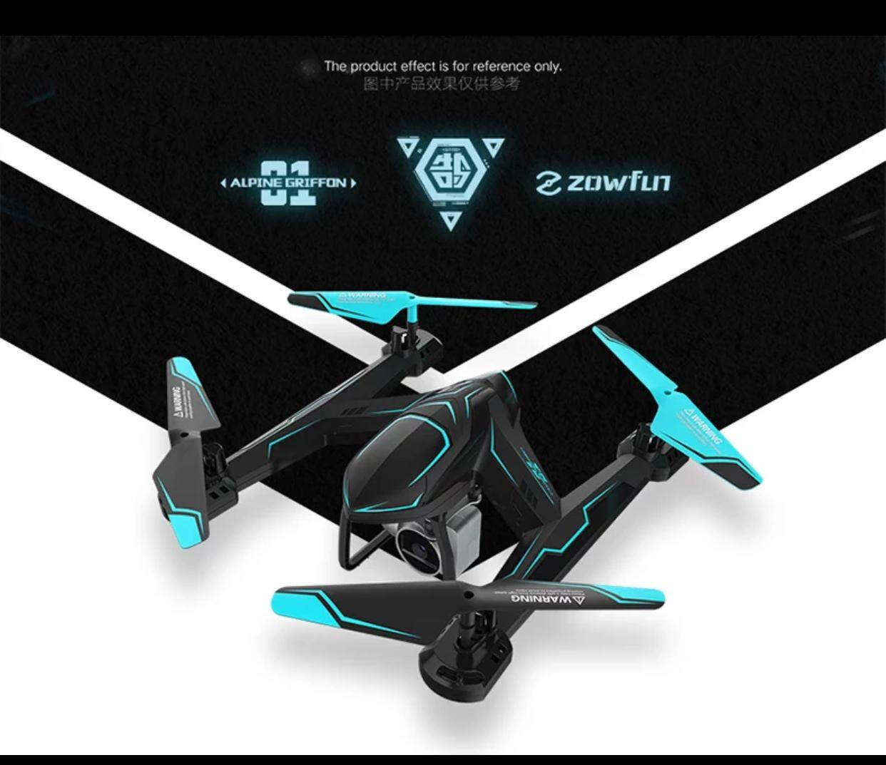 Ag-01d [ready Stock] Drone Quadcopter Wifi Fpv 720p Camera 720p Hd Altitude Hold (20 Mins Fly Time Appx) By 89 Bear Studio.