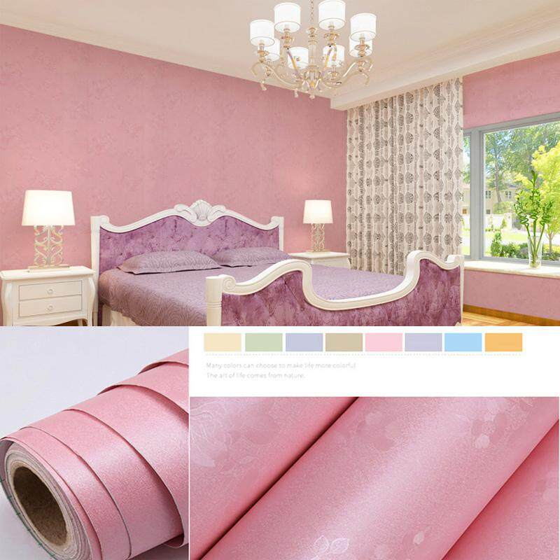 100x60cm Waterproof Self adhesive Wallpaper PVC Home Decor Floral For Living Room Bedroom Background Wall Stickers