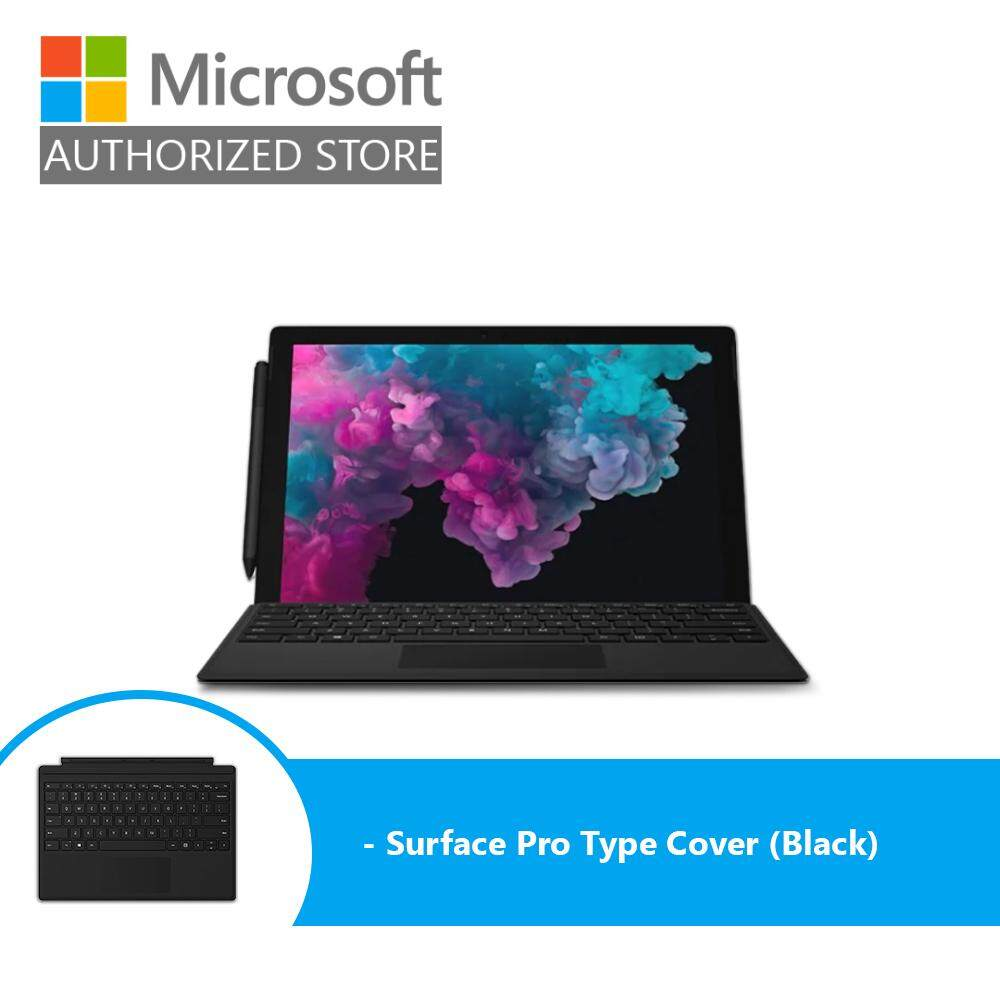 Microsoft Surface Pro 6 - Platinum (i7/16GB/512GB/12 /Windows 10) + Type Cover (Black) Malaysia