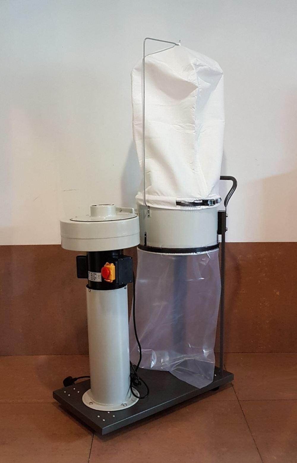 1 hp motor fan wind saw dust waste sand vacuum collect collector with bag