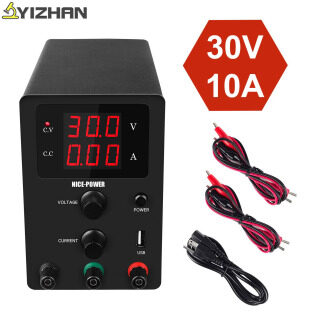 High-precision Voltage Regulated Lab Power Supply 30V 10A Power Supplies Adjustable Voltage And Current Regulator 30 V thumbnail