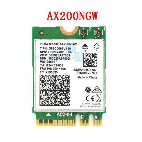 Bảng giá Bộ Chuyển Đổi Không Dây 2.4gps Ax200ngw NGFF Cho Intel Wifi 6 Thẻ Mạng Ax200 2.4G/5 GHz 802. Zac/AX Wi-Fi Bluetooth 5.0 Mu-mio Phong Vũ