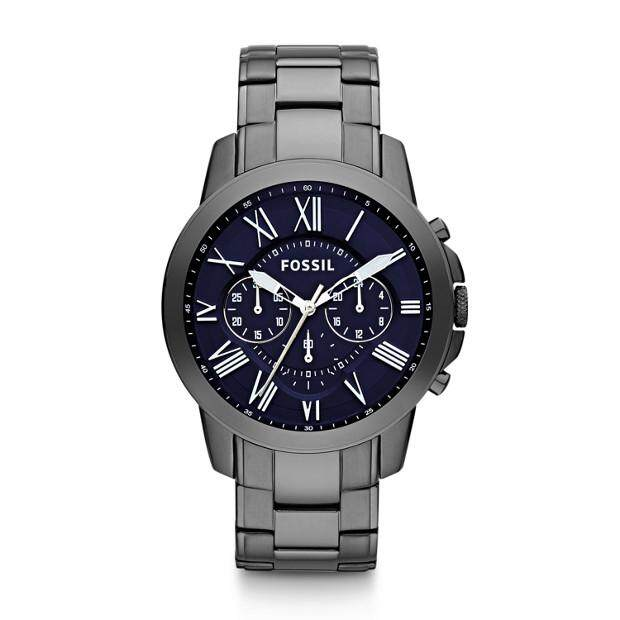 Original Fossil GRANT CHRONOGRAPH 44mm with 2 years warranty FS4831 Malaysia