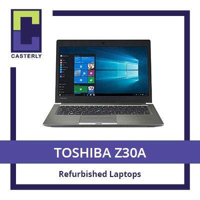 [Refurbished] TOSHIBA Z30A / Intel Core i7 / 8GB RAM / 256GB SSD (WIN10) / One Month Warranty Malaysia