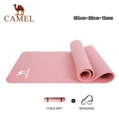 Thảm Tập Yoga Camel Sports Không Trơn Kèm Túi, Thảm Rộng Với Độ Dày 1.3Cm, Được Làm Từ Chất Liệu Nhựa NBR Chống Trơn Trượt, Cũng Thích Hợp Cho Tập Thể Dục Hay Tập Pilate