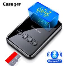 Essager Bluetooth 5.0 Thu Phát 3.5 Mét Jack Aux Âm Thanh Không Dây Adapter Cho PC TV Headphone Xe Bluetooth Receiver