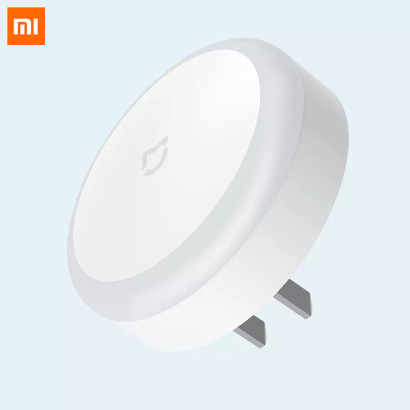 Original Xiaomi Mijia Led Induction Night Light Plug Version Lamp Automatic Lighting Touch Switch Low Energy Consumption Light For Bedroom Corridor