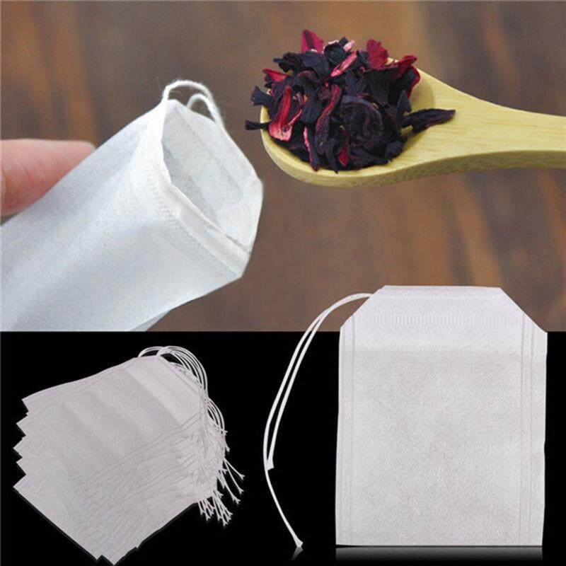 100pcs Mesh Food-Grade Non-Woven Fabric Home Brewed Flavored Tea Filter Bag Empty Bag By Ka Hues.