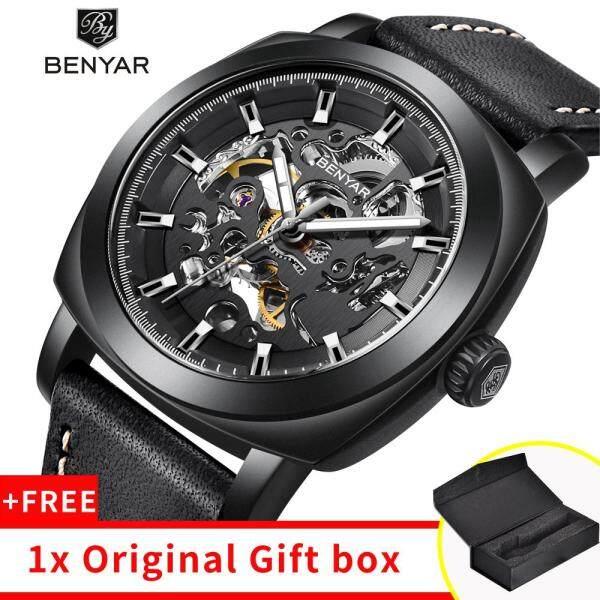 BENYAR Mens Watch 2019 New Skeleton Automatic Watch Men Waterproof Mens Tourbillon Mechanical Watches Top Brand Luxury Wristwatches Malaysia