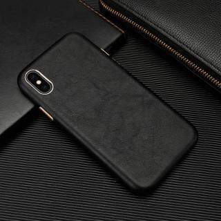 Ốp Lưng Cho iPhone 7 8 Plus X XR XS Max SE 2020 Họa Tiết Da Cừu PU Cổ Điển + Phím Bấm Kim Loại + Ốp Lưng Microfiber Siêu Mỏng Bảo Vệ Toàn Bộ thumbnail