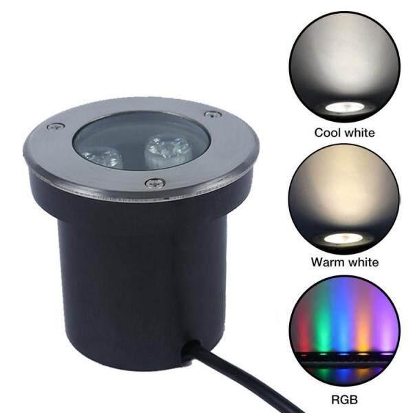 Đèn LED Chiếu Sáng Dưới Nước RGB, Đèn Pha Chống Ăn Mòn Chống Nước Dùng Cho Bể Cá, Đài Phun Nước AC12V
