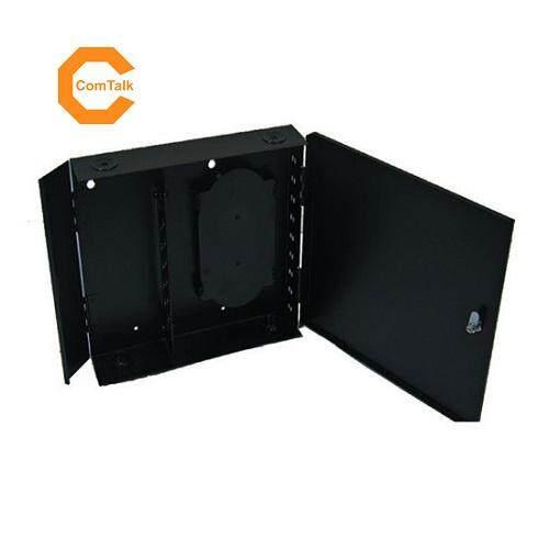 Dintek Wall Mount Fiber Enclosure 12 Ports SC Panel (Unloaded)