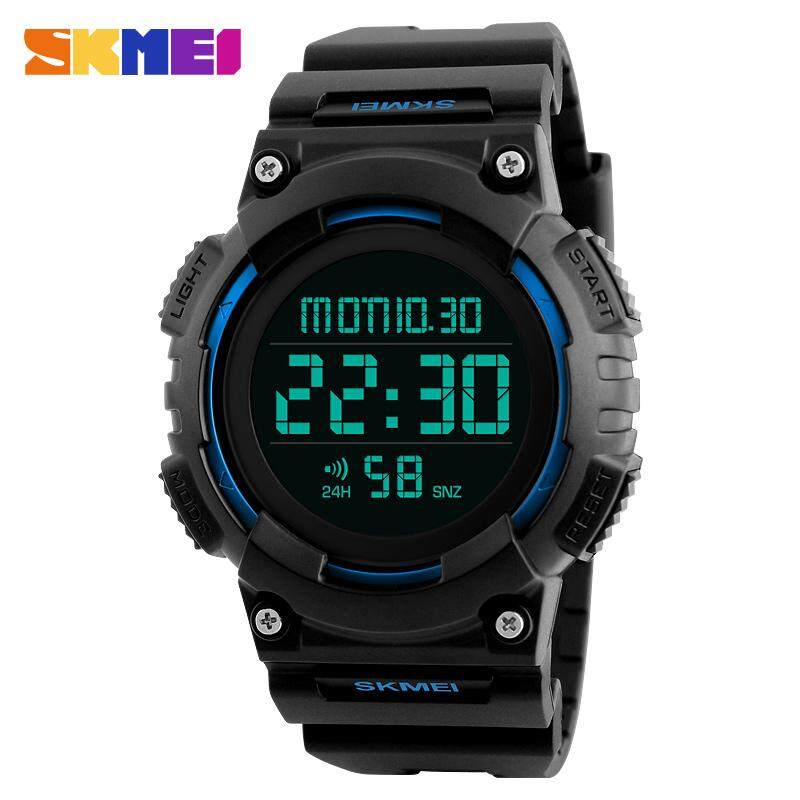 SKMEI Brand Mens Watches Fashion Sports Multifunction LED Digital Electronic Watch Men Casual Waterproof Military Chronograph Stopwatch Clock 1248 Malaysia