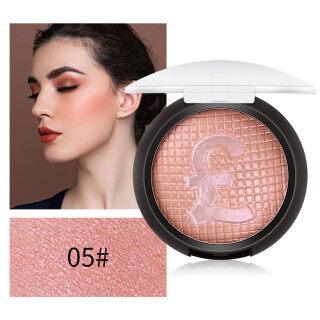 Bedak Kosmetik Wajah Profesional, Palet Bedak Pencerah Bronzer Warna Tunggal, Bedak Rias Wajah Profesional thumbnail