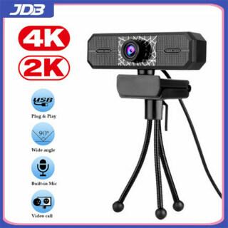 JDB Máy Ảnh 4K 8 Triệu Máy Ảnh Web 2K 30 Khung Hình Giây Thích Hợp Cho Xp, Vista, Win7, Win8, Win10, Mac Os, V. V. Máy Tính USB Webcam Trực Tiếp Camera thumbnail