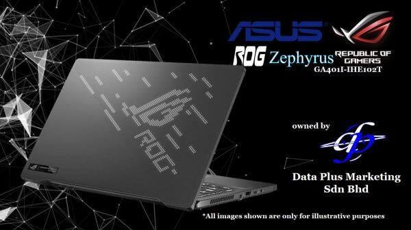 ASUS ROG Zephyrus G14 GA401I-IHE102T (Ryzen™ 5 4600HS/8GB/512GB SSD/GTX1650Ti/14 FHD IPS 144Hz/Win10/2Y) Malaysia