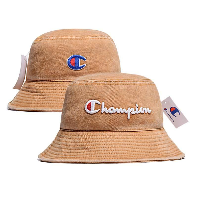 9ff4ee568a6ba4 Specifications of High Quality Original_Champion Bucket Cap Fishing Outdoor  Hip Hop Cap Men Women Summer NY Fisherman Hat