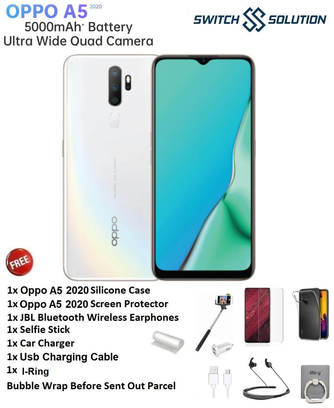 Oppo A5 2020 [ 3GB Ram + 64GB Rom] - Original Malaysia Set - Free Exclusive Gift