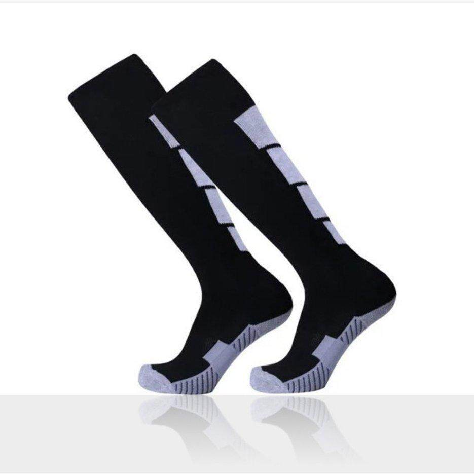 f8b7483879b E-ERA 1 Pair Anti-Slip Soccer Sports Socks Men Sock Football Knee Above