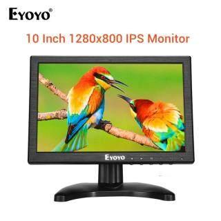 Eyoyo Màn Hình LCD IPS 10.1 Inch 1280X800 Với Đầu Vào HDMI VGA BNC AV Cho Máy Vi Tính CCTV thumbnail