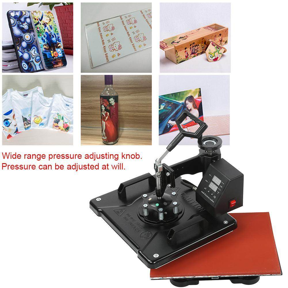38*29CM Double Display 5-in-1 Heat Transfer Machine Baking Cup Machine Heat Press Machine
