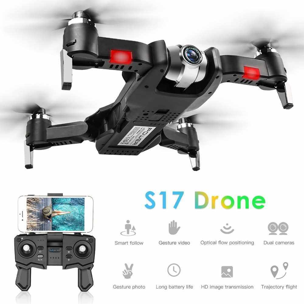 S17 RC Drone with Camera 1080P Drone RC Quadcopter Trajectory Flight Palm Control MV Production Optical Flow Positioning Gesture Photo Video Follow Me 2 Batteries (22)