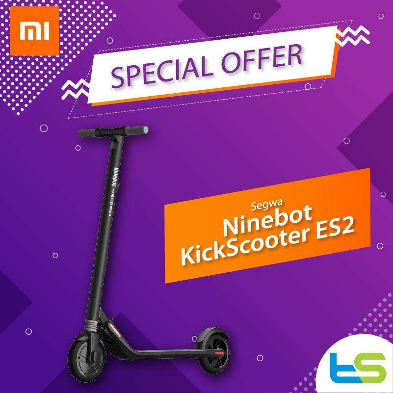 Original] Segway Ninebot Kickscooter ES2 Folding Electric