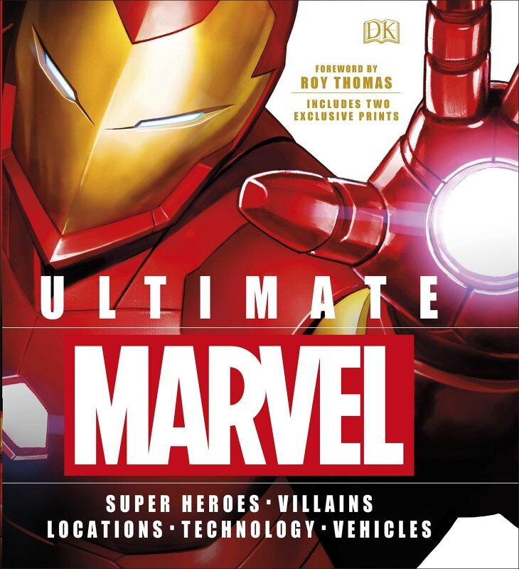 Ultimate Marvel: Includes Two Exclusive Prints Malaysia