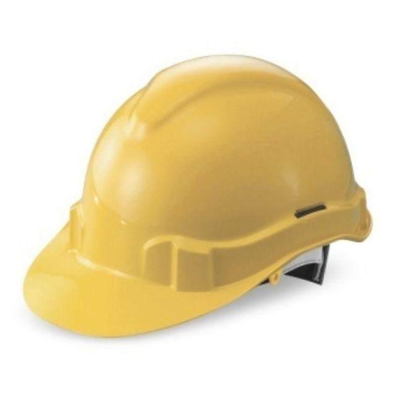 Safety Helmet (Yellow / White)