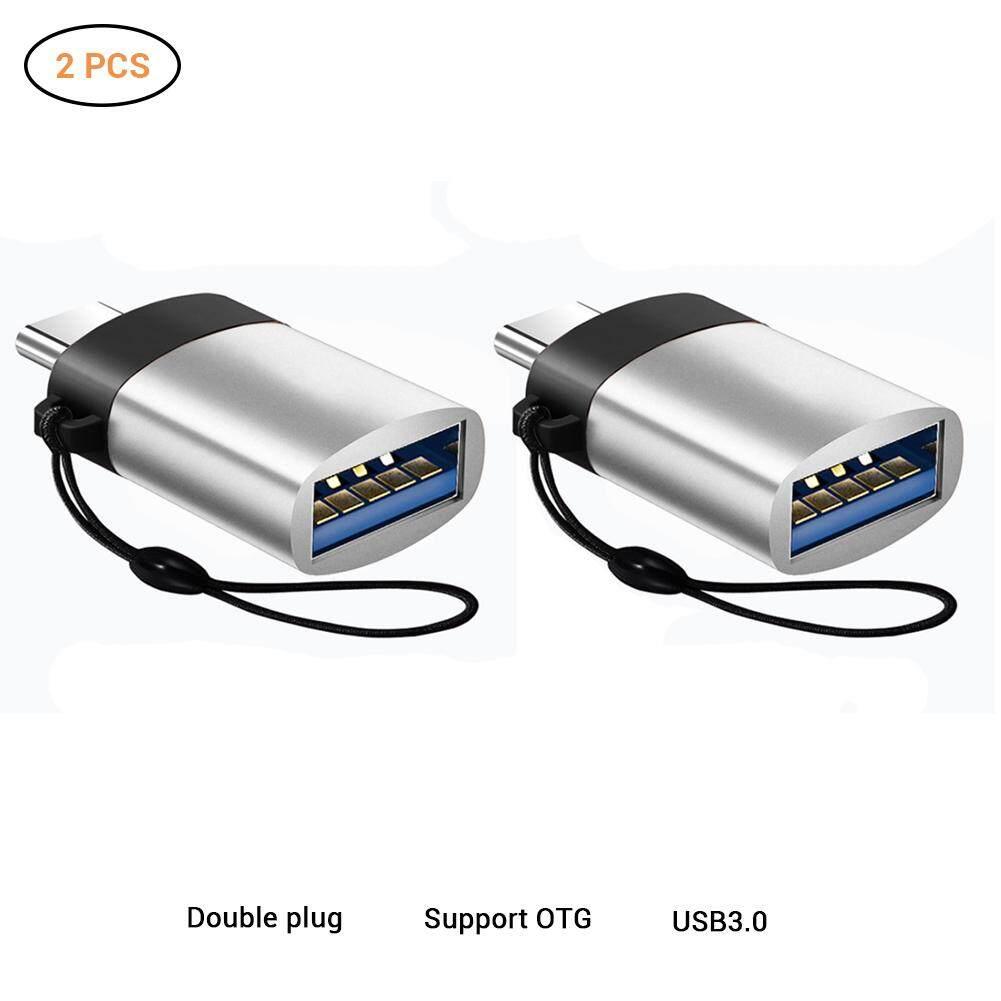 2 CHIẾC USB C sang USB Adapter Thunderbolt 3 sang USB 3.0 tương thích với MacBook Pro 2018/2017, macBook Air 2018, Điểm Ảnh 3, và nhiều hơn nữa C-loại thiết bị