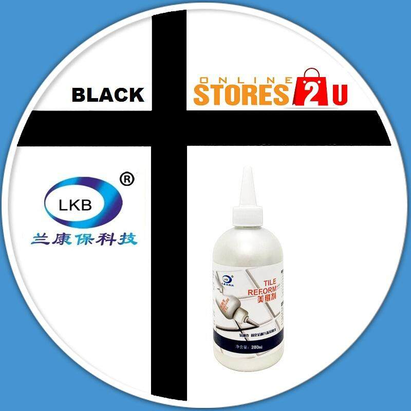 280ml Original LKB Tile Reform Grouting Fix Waterproof Tiling Repair Kit (White / Grey/ Black/ Gold)