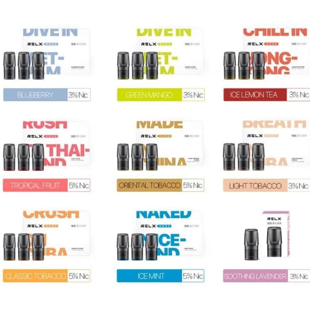 (vape) Relx Pods - E-Cigarette Juice E-Liquid By Iphonehk.