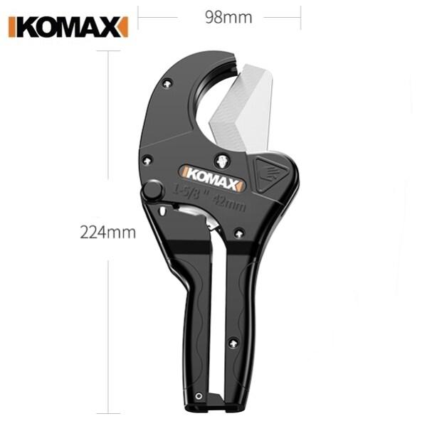 KOMAX Scissor PVC PPR PE Pipe Cutter Max 42mm Pipe