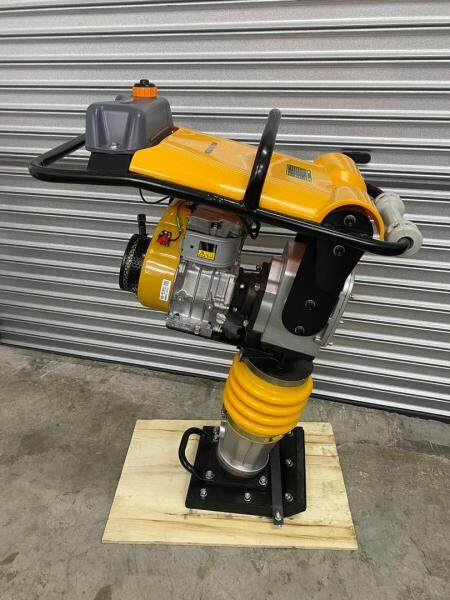 MEGATRON RM80 Tamping Rammer 10Kn Strong Impact Force Multipurpose Use with Maneuverability