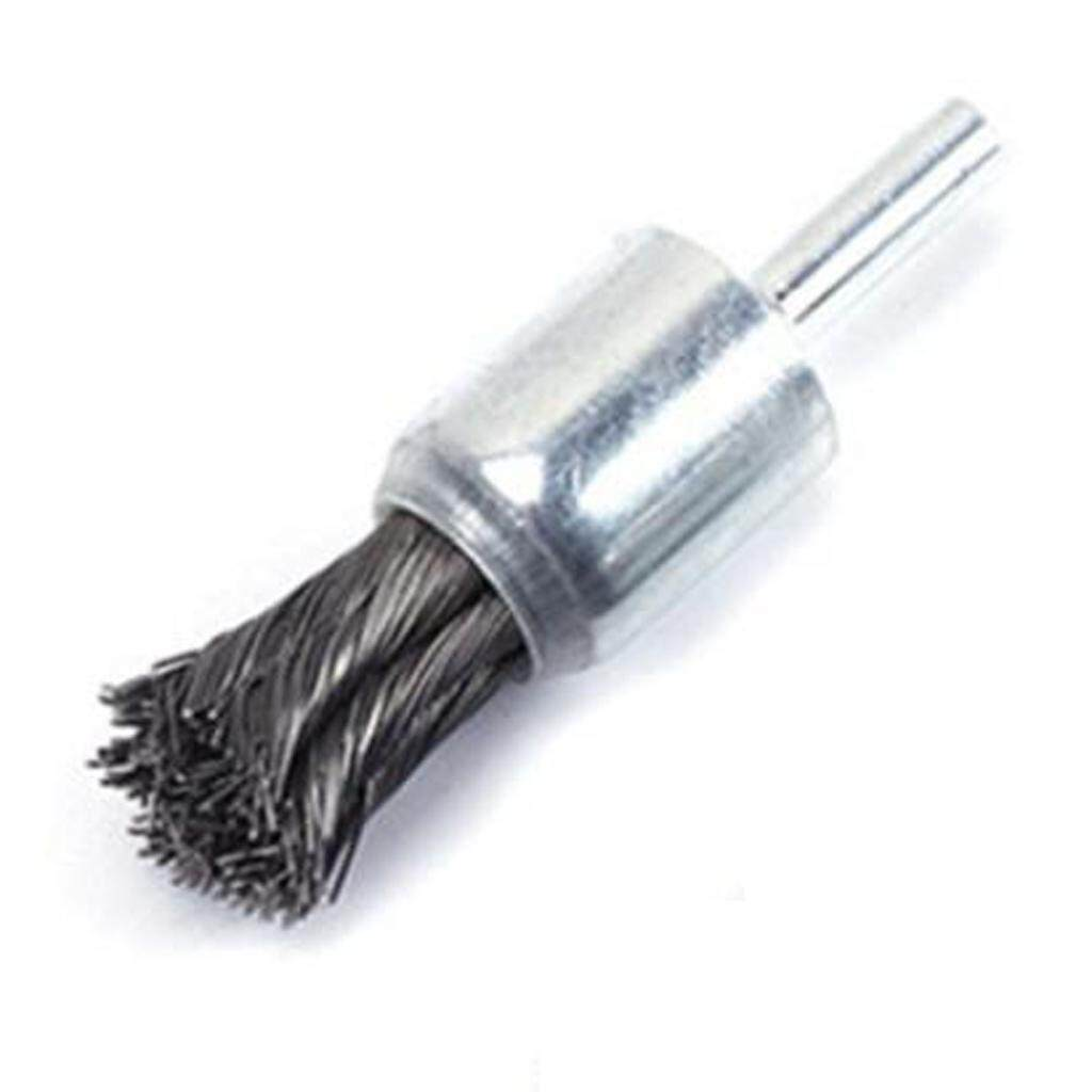 Loviver Steel Knot Wire End Brush Rust Paint Removal Tools For Die Grinder or Drill