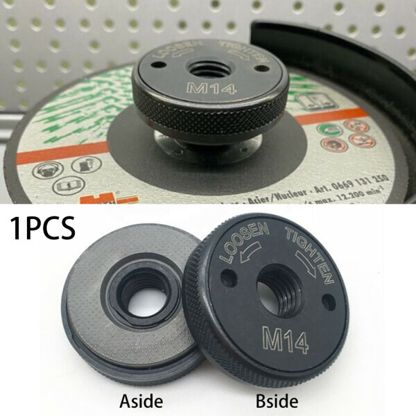 M14 Clamping Replacement Angle Quick Release Clamp Flange Nut For Milwaukee Kit