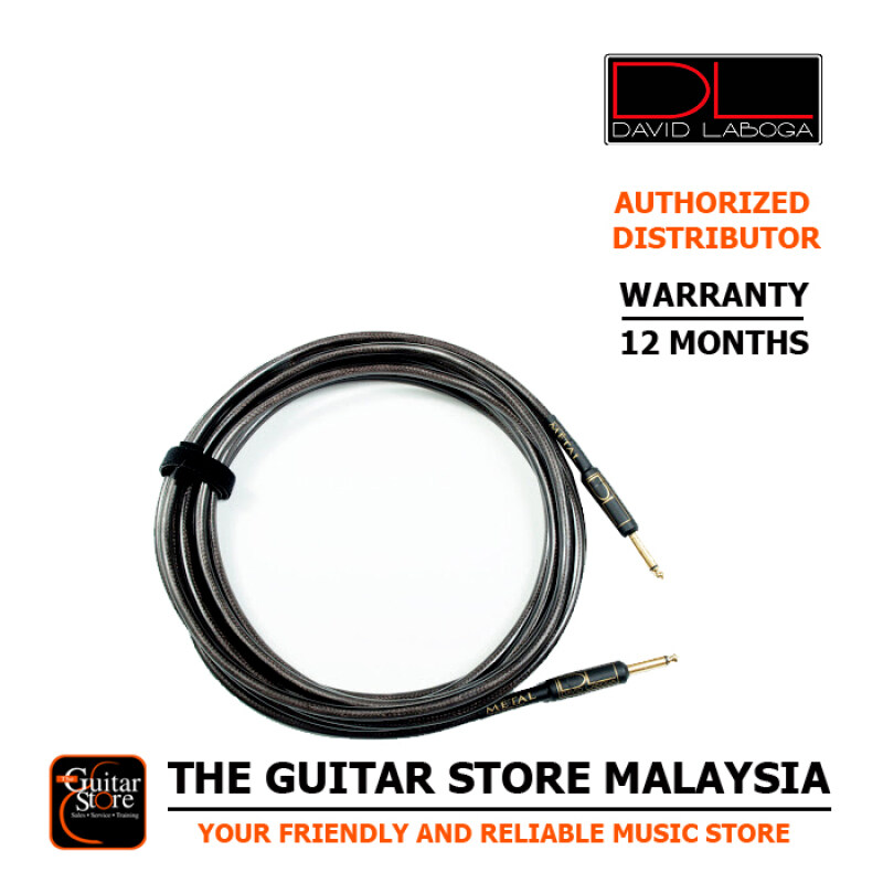 David Laboga DL Metal Series High End Custom Guitar Cable 15FT Malaysia